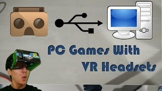 How To Play PC Games With VR Headsets (Google Cardboard) - Trinus Gyre(UPDATED VERSION OF TRINUS VR TUTORIAL: https://youtu.be/nNcak3hDNOQ **** Server Link: http://trinusvr.com/download-2/ Thanks for Watching., 2015-04-20T16:27:03.000Z)