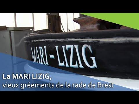 La Mari-Lizig, Vieux Gréements De La Rade De Brest