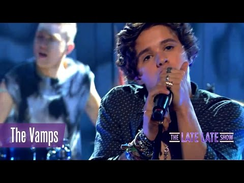 The Vamps perform Cecelia | The Late Late Show
