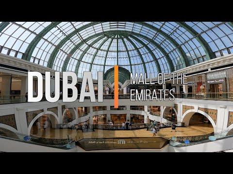 ✅[2021] SECOND BIGGEST MALL IN DUBAI  | MALL OF THE EMIRATES |  WALKING TOUR DUBAI