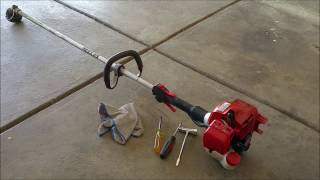 Tự Học Sửa Máy Cắt Cỏ Tập 1 ( how to fix grass trimmer with out fire part 1 ) Video # 104