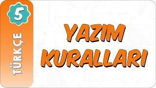 5. Sınıf Türkçe  Yazım Kuralları
