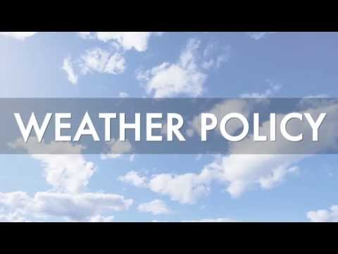 ESSC - Weather Policy