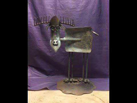 The Most Creative Scrap Metal Sculptures Ideas 2019