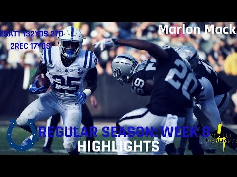 Marlon Mack Week 8 Highlights | Performing 10.28.2018