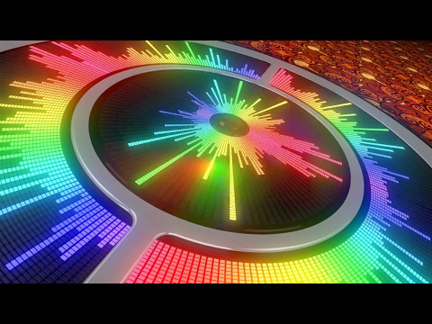 Music Visualization - Something Just Like This - The Chainsmokers & Coldplay