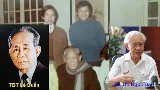 Gs Hồ Ngọc Đại: 'Tôi may mắn vì được là con rể Tổng bí thư Lê Duẩn'