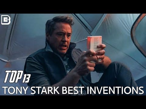 13 Greatest Inventions By Tony Stark/Iron Man Till Avengers Endgame In Hindi | BlueIceBear