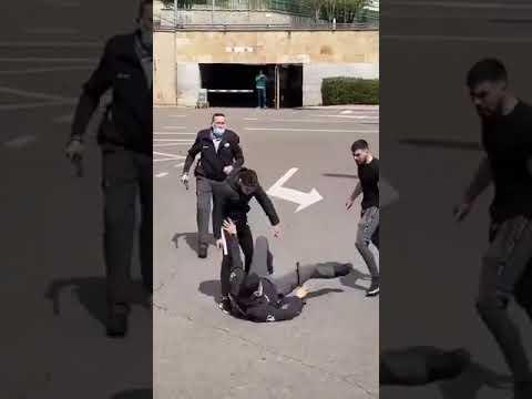 Agresión a dos guardias de seguridad del hospital de Salamanca