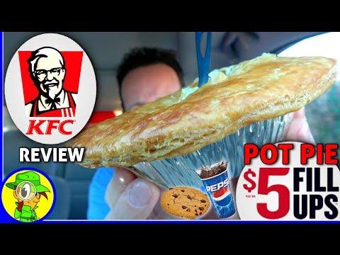 KFC® | Pot Pie $5 Fill Ups™ | Food Review! 🐔🍲👴