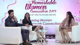 Ms. Sehrish Ali & Mr. Piyush Sahdev talk on is TV/Media line as glamorous as it looks.