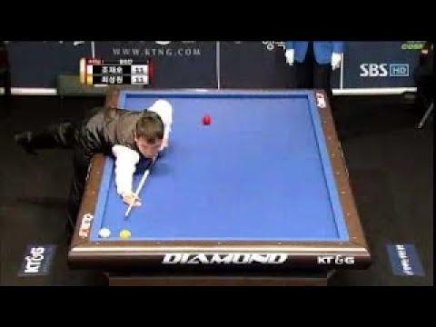 JaeHo Cho vs. SungWon Choi   Final 3 Cushion Billiards