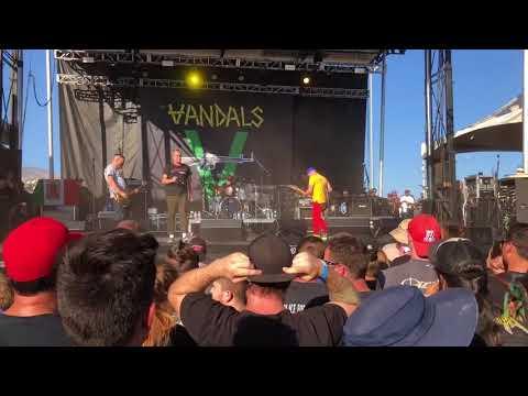 The Vandals It's A Fact live at Sabroso Fest Tucson Az 2018