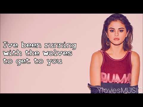 Selena Gomez ft Marshmello  Wolves Lyrics