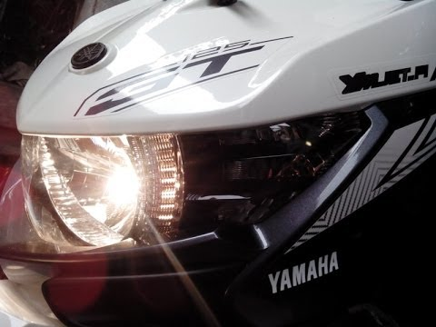 Penampakan Keren NEW Yamaha XEON GT125 Eagle Eye Luxury White