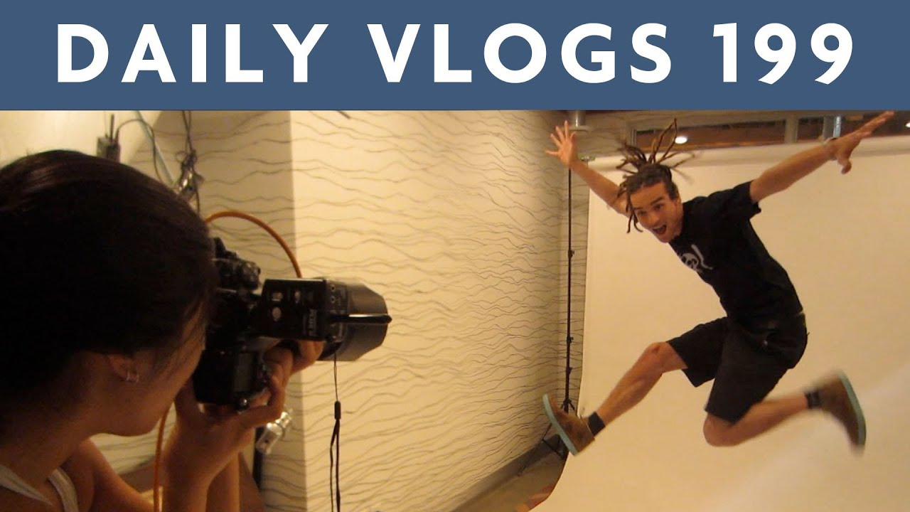 Photoshoot and Gaming  | Louis Cole Daily Vlogs 199