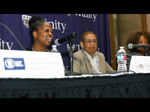 Women of Excellence Symposium with Cong. Eleanor Holmes-Norton Trinity Washington University