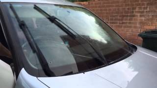 How to adjust windscreen washer nozzle jets VW Golf MK4 MKIV