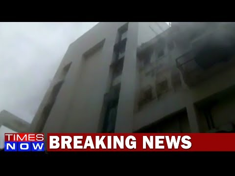 Fire In Multi-Storied Building In Pretoria Street, Kolkata