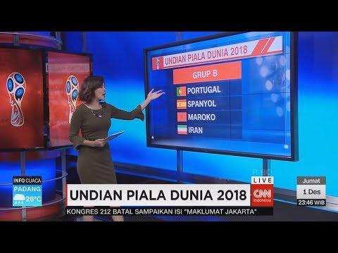 FULL- Hasil Drawing Piala Dunia 2018 Rusia, Argentina & Spanyol di Grup Berat- Sepak bola