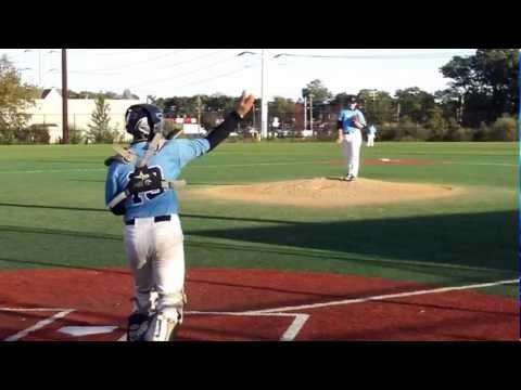 Adam Heidenfelder Pitching 10/13/2012