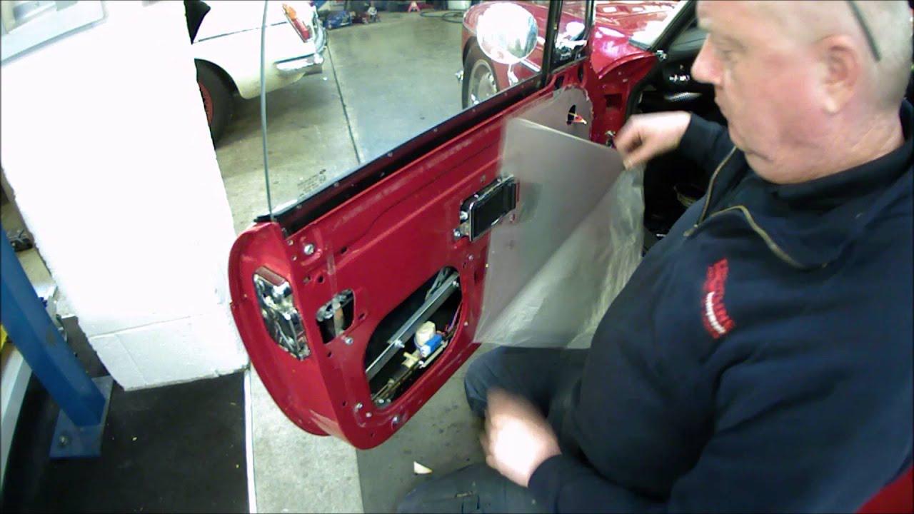 Tan Biscuit Color Material Sample MGA MGB MG Midget Door Panel Seat Delete