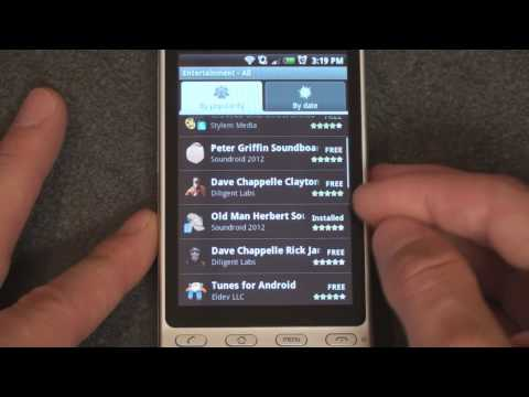 HTC Hero App Store