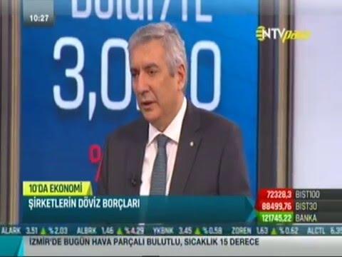 İSO Başkanı Erdal Bahçıvan NTV'de ekonomi gündemini değerlendirdi