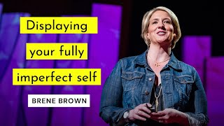 Taking off the armour and showing up authentically - Brené Brown TED Talk Speaker