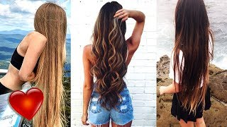 Download Video Extremely Long Hair Bun Drop | Super Long Hair Girls on Instagram 🍧 #3 MP3 3GP MP4
