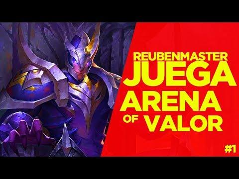 """⚡️ReubenMaster Juega """"Arena of Valor"""", El nuevo moba de Tencent."""
