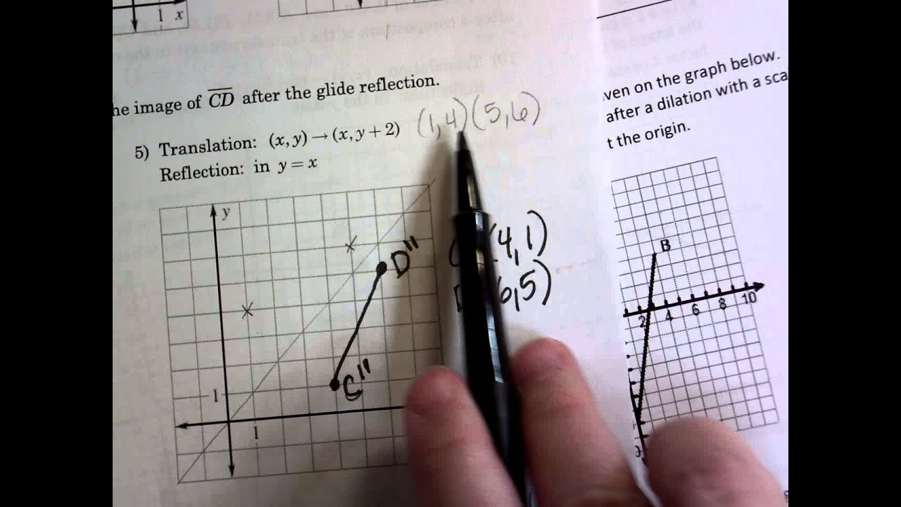 Workshet 95 Composite Transformations Prep KEY YouTube – Graph Transformations Worksheet