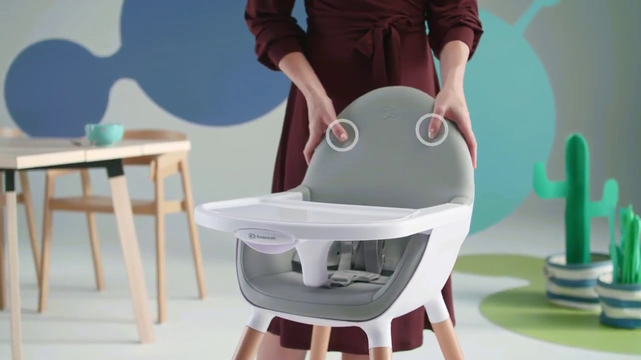 Chaise haute évolutive Kinderkraft Fini