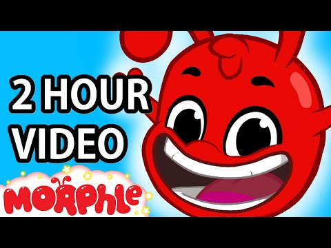 If your happy and you know it clap your hands song (+2hrs nursery rhymes songs) Magic Pet Morphle