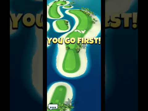 Golf Clash Tour 9 Oasis Hole 2 Par 4 with rock driver and nirvana recovery tips and strategy