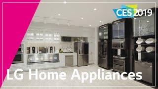 LG at CES 2019- LG Home Appliances