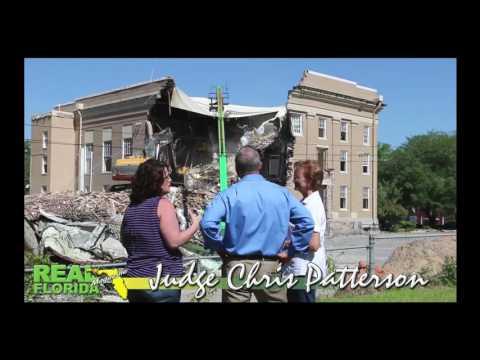 Circuit Judge Chris Patterson Interview- Washington County, Florida Courthouse