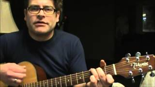 How to play Sto Lat (Happy Birthday Polish Song) on the acoustic guitar (With Chords)