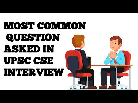Most common question asked in UPSC CSE interview // EXam learning.