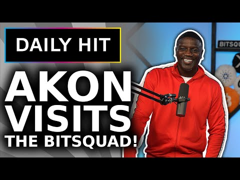 Akon Joins BitBoy LIVE On Stream (Greatest Crypto Project in Africa) | Daily Hit 146