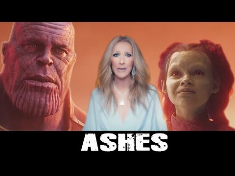 [HD] Ashes - Celine Dion (Avengers Infinity War Edition)