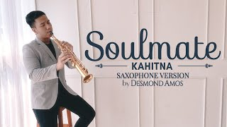 Soulmate - kahitna. soprano saxophone cover by desmond amos. check out my instagram page @desmondamos for more music content and recent updates! subscribe no...