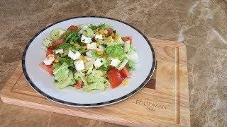 Овощной салат с сыром фетакса: рецепт от Foodman.club