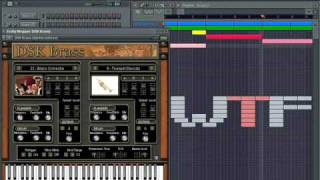 FL Studio New Beat with DSK Brass WTF2009