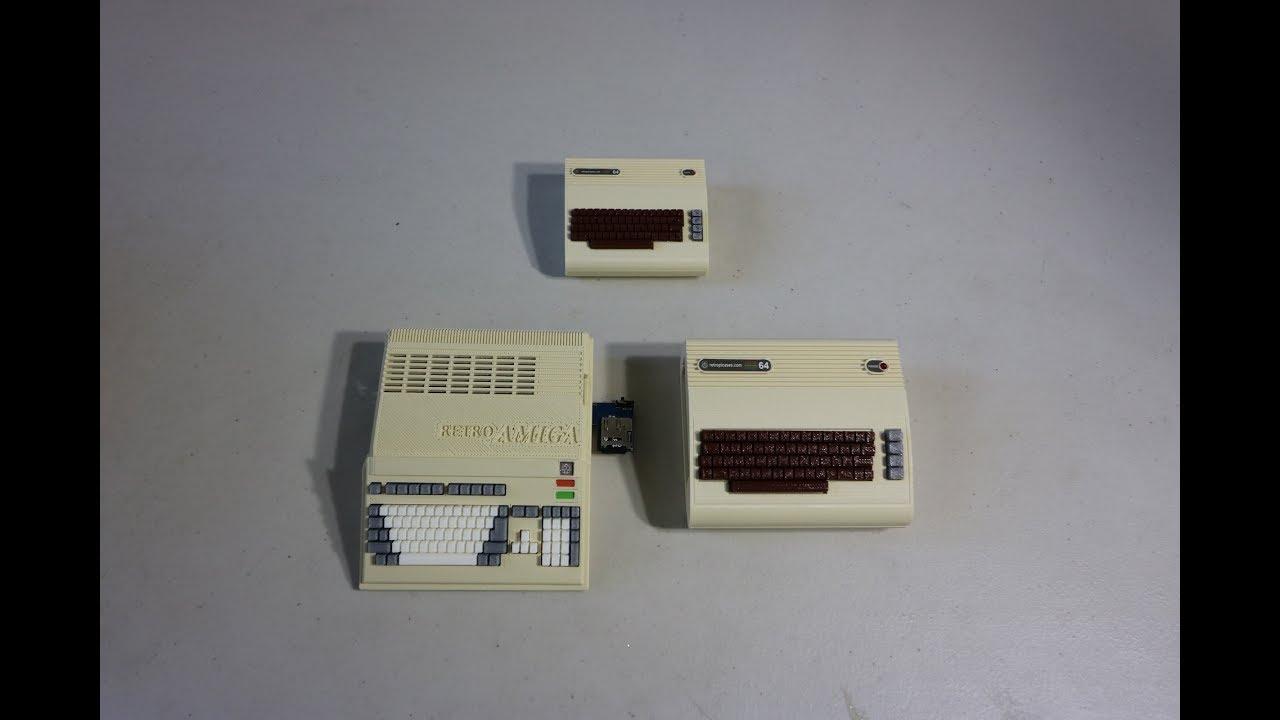 Retro Commodore Amiga Raspberry Pi Cases Reviewed