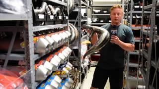 David Pingree takes you on a tour through the KTM U.S. Headquarters...