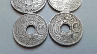 LEBERATE EGALTE FRATERNITE عملات قديمة سنة 1917