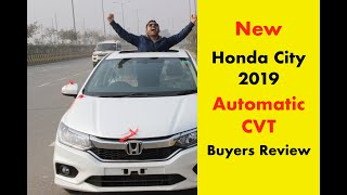 New Honda City 2019 Automatic CVT  🔥🔥 | Review in Hindi, Features by Buyer February 2019