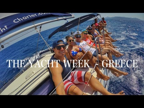 ADVENTUREWOLF // THE YACHT WEEK GREECE 2017