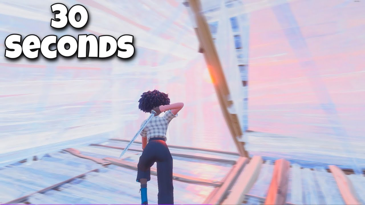 I Tried Making a Fortnite Montage in 30 Seconds... (ft. Season 7)